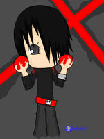 Red Handed Emo by Setshi
