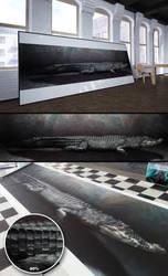 Crocodile by aablab