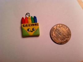Crayon Charm ~$2 by Jenna7777777