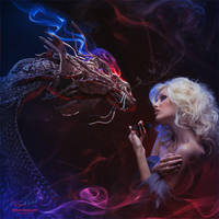 Dragon's Tale. Butterfly. by Vitaly-Sokol