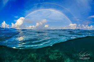 A Rainbow by Vitaly-Sokol