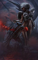 Dragon's Tale. Alien Space by Vitaly-Sokol