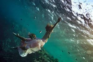 Underwater... by Vitaly-Sokol