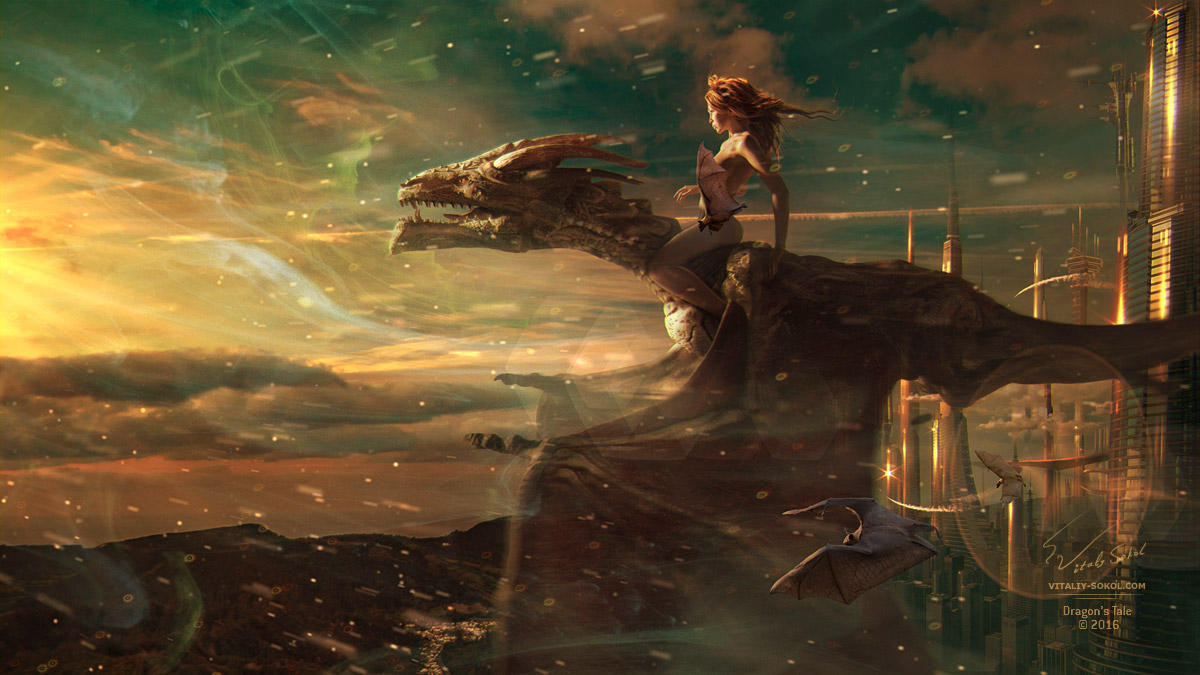 Dragon's Tale by Vitaly-Sokol