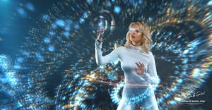 Cyberatonica. Sparks by Vitaly-Sokol