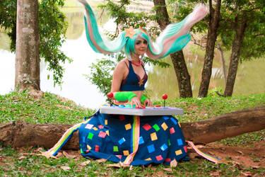 Sona Fliperama Cosplay by icecharizardcosplay