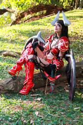 Queen of Pain Cosplay - Dota 2 by icecharizardcosplay