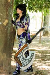 Warrior World of Warcraft Cosplay by icecharizardcosplay