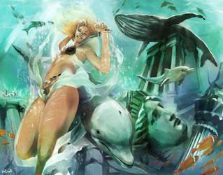 2010 Queen of Atlantis by Vandrell