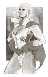 2011-POWERGIRL_BW by Vandrell