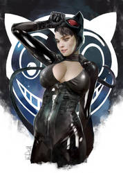 2015-catwoman by Vandrell