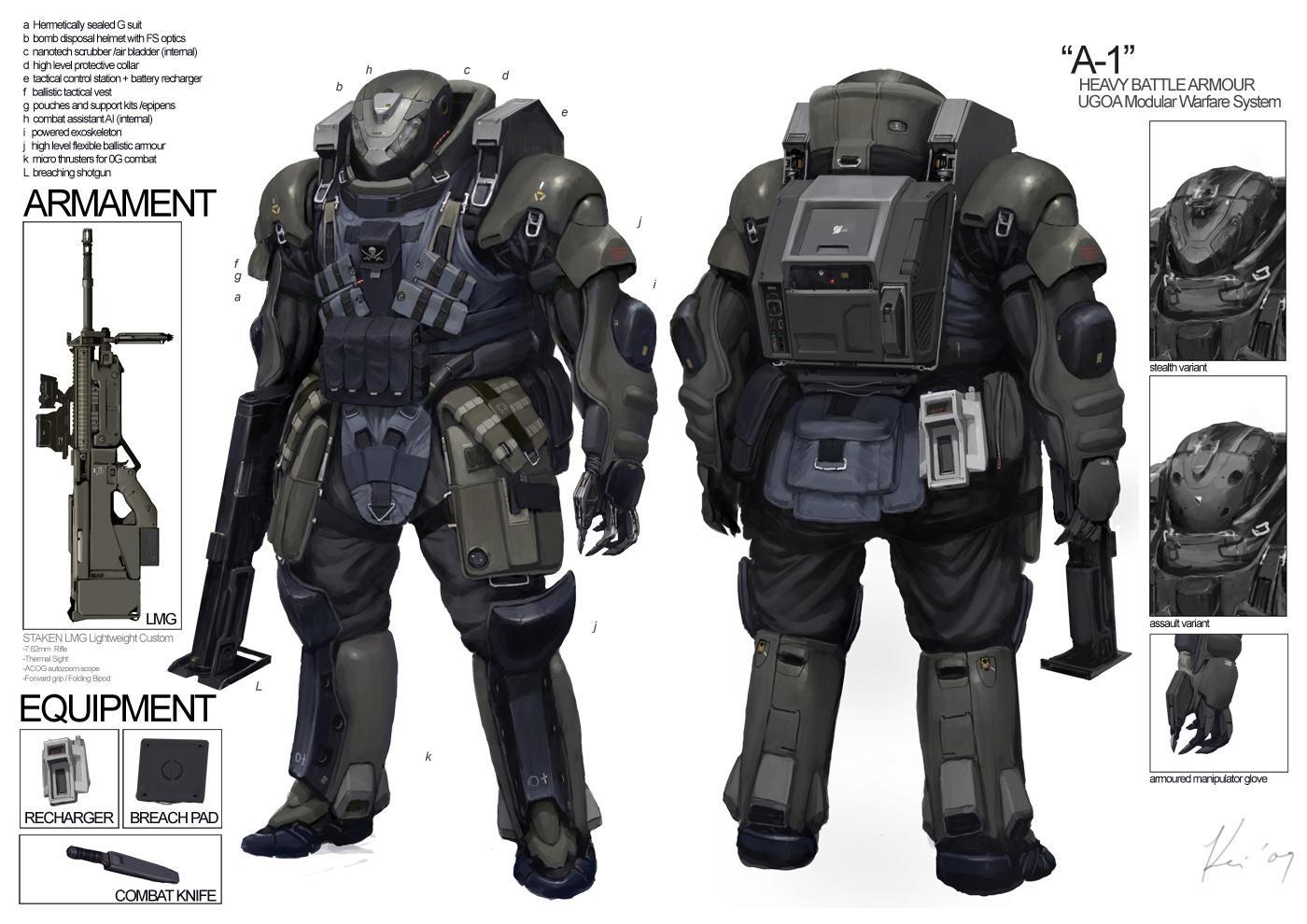 Space Vagabonds: Assaulter by ukitakumuki