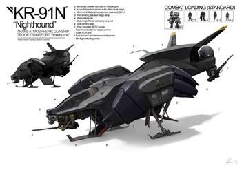 Space Vagabonds: Nighthound by ukitakumuki