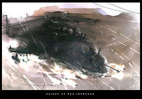 Flight of the Intruder by ukitakumuki