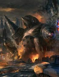 Monsterpocalypse: Uprising by ukitakumuki