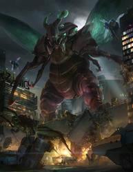 Monsterpocalypse: Swarm by ukitakumuki