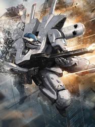 Galaxy Saga: White Gryphon Advanced by ukitakumuki