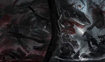 LMS: Never send SEALS to kill a Shark by ukitakumuki
