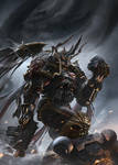 Games Workshop Codex: Black Legion by ukitakumuki