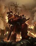 Games Workshop Codex: Crimson Slaughter by ukitakumuki