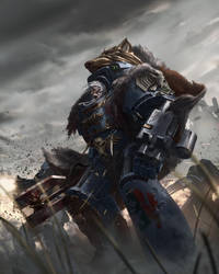 Games Workshop Codex: Champions of Fenris by ukitakumuki