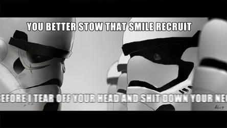 A New Stormtrooper's Nightmare by ukitakumuki