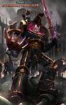 Eternal Crusade Promo Art: Abaddon The Despoiler by ukitakumuki