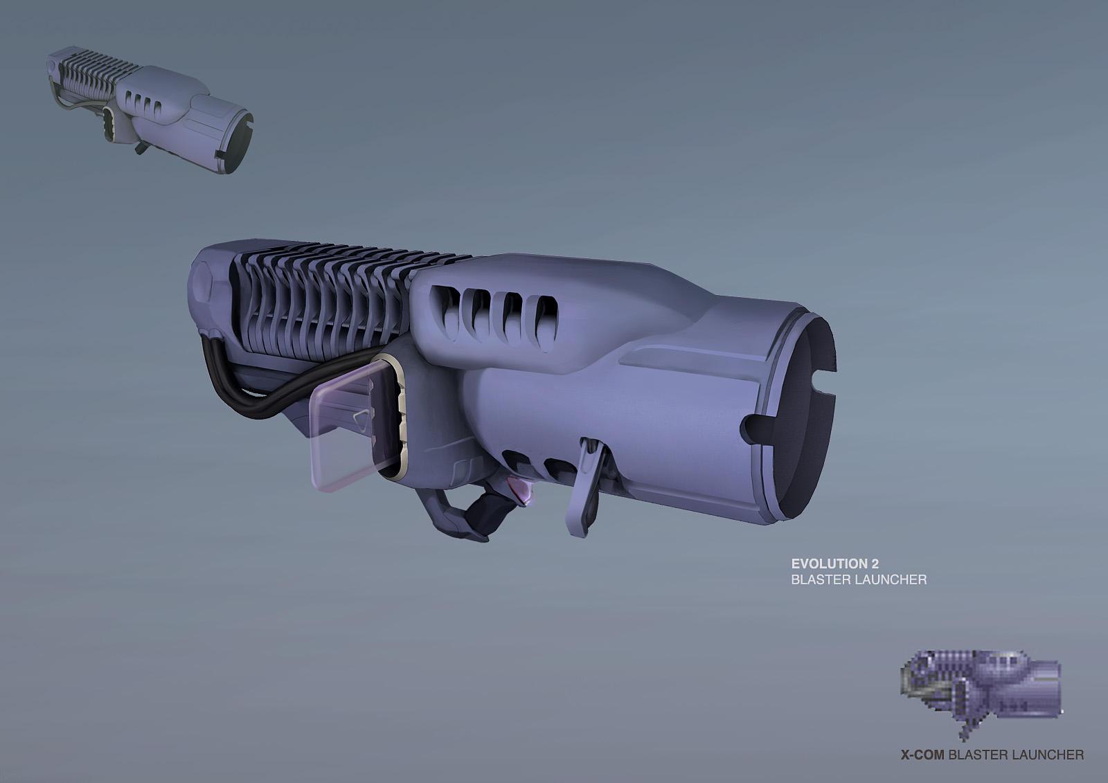 XCOM: DEEP RISING Blaster Launcher by ukitakumuki