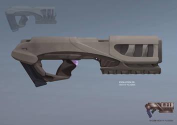 XCOM: DEEP RISING Heavy Plasma by ukitakumuki