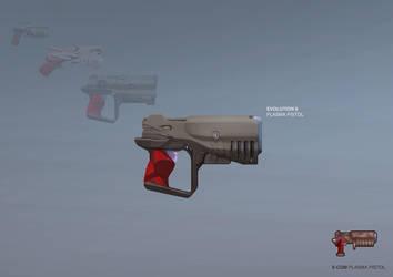 XCOM: DEEP RISING Plasma Pistol by ukitakumuki