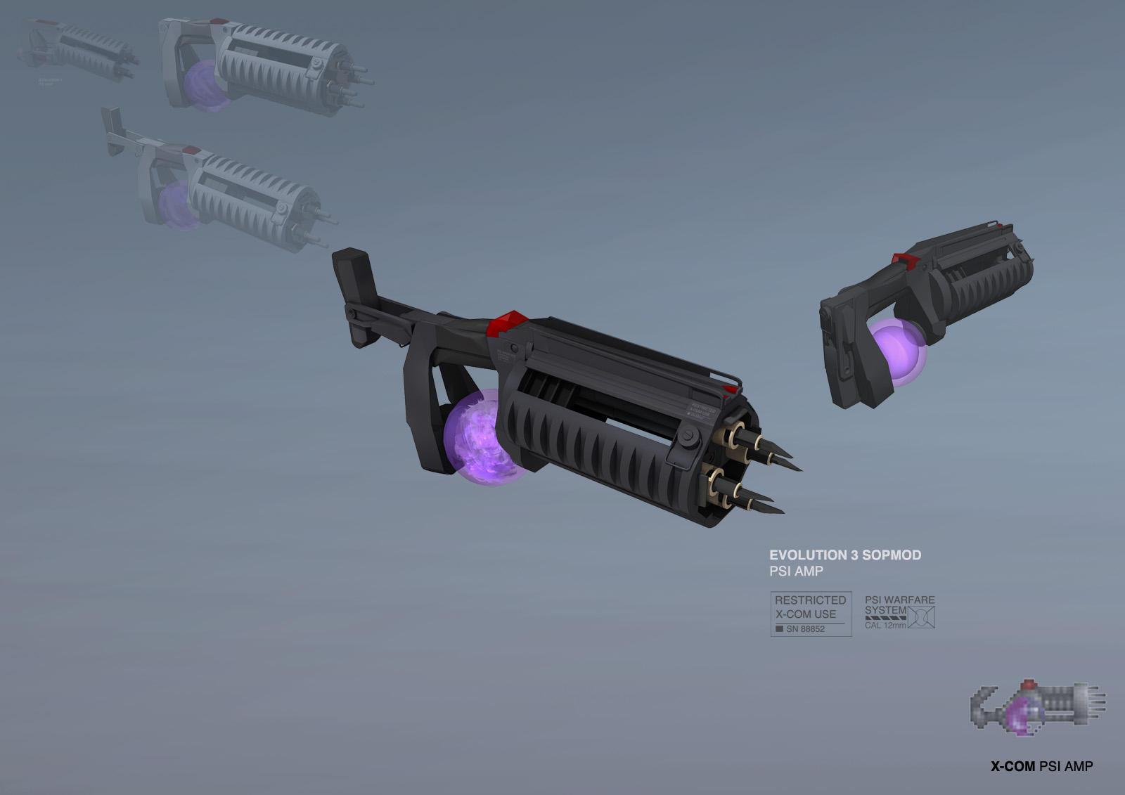 XCOM: DEEP RISING Psi Amp by ukitakumuki