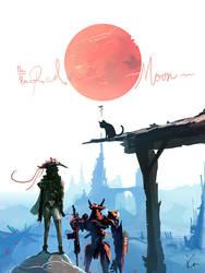 The Red Moon by ukitakumuki