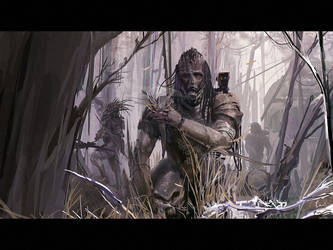 Great Black Hunter by ukitakumuki