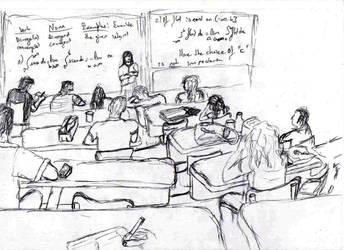 Morning Class by Tanshaydar