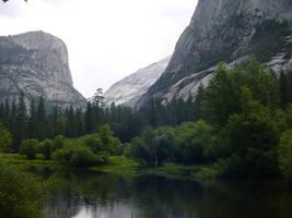 Yosemite - Mirror Lake by goosehonker-stock