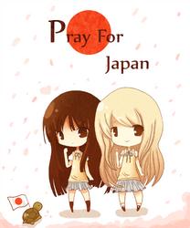 K-on: Pray for Japan by RinRinDaishi