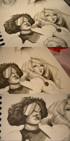 Steven Universe Sketches by RinRinDaishi