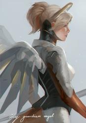 My guardian angel... by RinRinDaishi