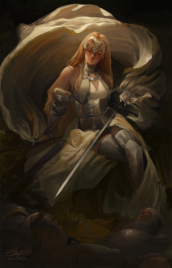 Jeanne D'Arc by RinRinDaishi