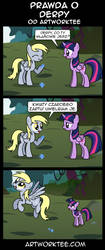 Prawda o Derpy (The Truth About Derpy PL) by Ms-VerMa