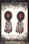 Mahagony Obsidian Earrings by GoodQuillHunting