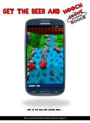 Shoot the Hooch mobile app design by Bo19