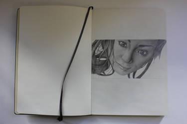 Moleskine Portrait by Bo19