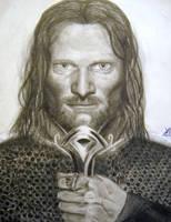 Aragorn by YamTorresIlustrador