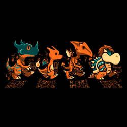 Orange Fiery Road by liu-psypher