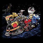 Zords Before Time by liu-psypher