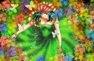 Momoiro Land: Sorcerer by hageshikulady