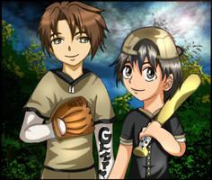 KKM: Binding Baseball by hageshikulady