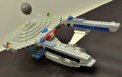 Lego Star Trek Enterprise NCC-1701-A 5 by ENT2PRI9SE