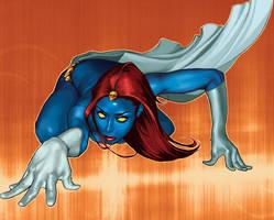 Mystique by aleciarodriguez